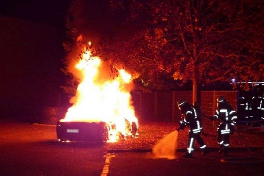 © Provided by Motoring Research Teenager sets fire to Ferrari 458 – because he wanted a Speciale A