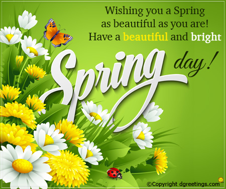 Happy spring idrs - Happy spring day image quotes ...