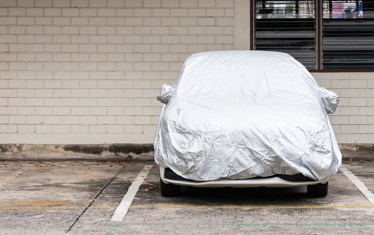 Protect your car from dirt and industrial fallout by keeping it covered with a weather-proof cover.